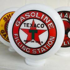 Mini Gas Pump Globe, Texaco Filling Station, Petrol Memorabilia, Hand Made