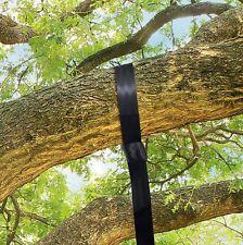 SWING HANGING STRAPS & HOOKS HANG SEAT ROPE FROM TREE/BEAM 1m Long