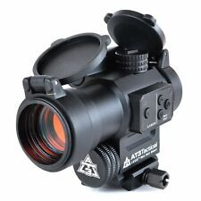 AT3 LEOS Red Dot Sight with Integrated Laser Sight & Riser