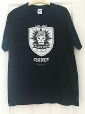 "CALL OF DUTY - 2010 VINTAGE ""BLACK OPS XBOX LIVE"" BLACK T-SHIRT (L) - UNWORN"