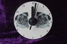 Pug CD Clock by Curiosity Crafts