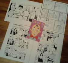 Clock 3 Original Interior Comic Pages & Prelim page Indie Comics Paul Sharar