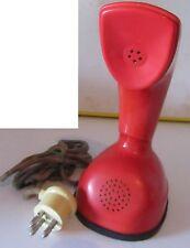 Telefono Ericofon Cobra Rosso Red RARO Ericsson made in sweden vintage anni 70