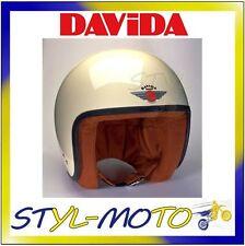 80513 CASCO DAVIDA 80-JET COMPLEX CREAM/BROWN LEATHER TAGLIA XL