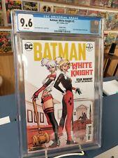 Batman White Knight # 3. Variant.  Cgc 9.6