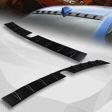 For 2015-2018 Subaru WRX STI Black Shark Fin Rear Roof Vortex Spoiler Wing