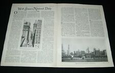 """THE WALL STREET JOURNAL 1927 STORY OF THE NEWSPAPER """"THE DEARBORN INDEPENDENT"""""""