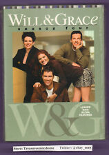 Will & Grace Season Four DVD 2005 Eric McCormack Debra Messing Sean Hayes Sealed