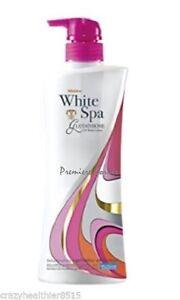 400ml. WHITENING Glutathione + Arbutin Mistine UV White Spa Moisturizing Lotion