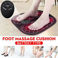 Electric EMS Foot Massager Physiotherapy Pedicure Tens Mat Foot Vibrator Machine