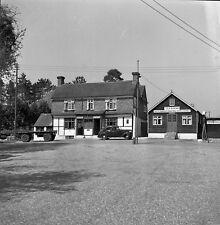 B/W 6x6 Negative Bucks Green Sussex Queens Head Pub Inn + Copyright redb26