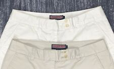 Vineyard Vines Womens Size 8 Pair Of 2 Bermuda Shorts