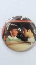 Olivia Newton-John Grease John Travolta vintage logo buttons pop LARGE BUTTON 6