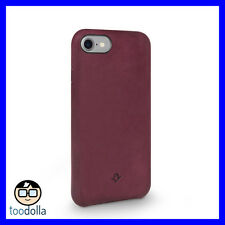 TWELVE SOUTH Relaxed Leather genuine burnished case for iPhone 7/8, Marsala Red