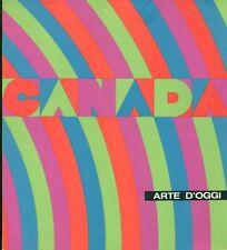 AA. VV. Canada arte d'oggi. Catalogo mostra, Galleria Nazionale d'Arte moderna