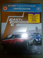 Fast & Furious 6 Steelbook Blu Ray Brand New Sealed Paul Walker Limited Edition