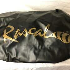 Heavy Duty Vinyl Faux Leather Drawstring Cover For Rascal Scooter Unused Black