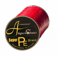 New Braid Fishing Line Anglers Choice Braided Fishing Line 30 LB 500 Meter Red