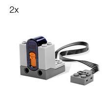 2x Lego Technic power functions Ricevitore IR 8884 58123 4506085 NUOVO