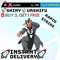 ✨SHINY✨POKEMON SWORD AND SHIELD RAPID STRIKE URSHIFU 6IV 🚀Instant Delivery🚀