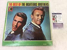 The Righteous Brothers Vintage Original SIGNED ALBUM JSA COA