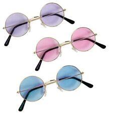 John Lennon Style Hippie Round Glasses 1960s Fancy Dress Costume Ozzy Osbourne