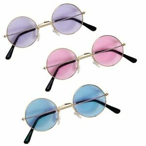 hippy glasses assorted colours