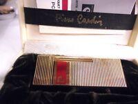 Accendino Pierre Cardin a Gas PC 7 - anni 70/80  - Lighter - Briquet - Feuerzeug