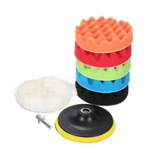 8-piece set 3inch Buffing Waxing Polishing Sponge Pads For Car Polisher Drill