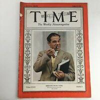 Time Magazine August 8 1938 Vol 32 #6 American-Italian Film Director Frank Capra