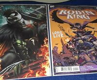 Dark Nights Death Metal Robin King #1 DC 2020 | J. Roberts 1:25 Variant + Main