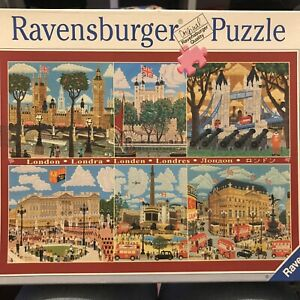 RAVENSBURGER 'London Scenes' 1000 Piece Jigsaw Puzzle