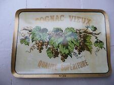 étiquette ancienne COGNAC VIEUX