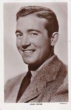 Picturegoer Series, JOHN PAYNE, Paramount Actor / Cinema Film Star RP