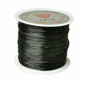 50M/Roll Stretch Elastic Cord Nylon Beading String Thread for DIY Jewelry Making