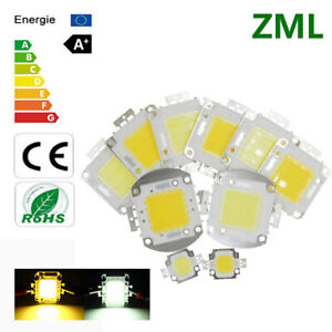 10W 20W 30W 50W 70W 100W High Power Epistar COB LED Bead Warm/White Chip 10V 32V