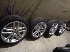 4x VW Cross Polo 9N orig. Alufelgen 7.5x17 ET35 5x100 Felgen 6Q0601025AF