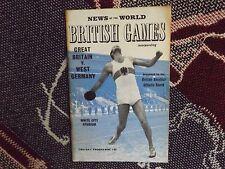 Programa de atletismo 1963-Juegos Británico-Gran Bretaña v Alemania Occidental