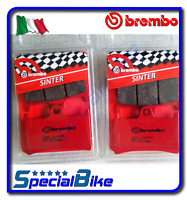 YAMAHA FJR 1300 / ABS 2001 > 2005 BREMBO SA SINTERED BRAKE PADS 2 SETS