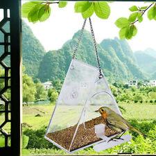 Outdoor Wild Bird Hanging Nut Seed Feeder Peanut Feed Window Feeders Garden New