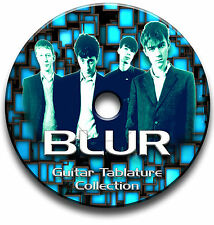 BLUR INDIE ALTERNATIVE ROCK BRITPOP GUITAR TABS TABLATURE SONG BOOK SOFTWARE CD