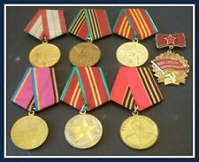 Soviet Russian Commemorative Russia - Collection of Russian medals and badges