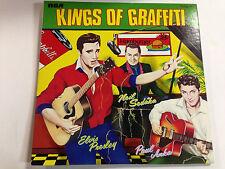 Elvis Presley,Paul Anka,Neil Sedaka - Kings Of Graffiti EXc+  Import 12`` LP