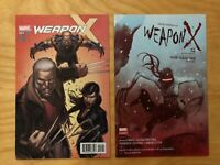 Weapon X #1-1:25 & #2- 1:25 Variant Covers(Marvel, 2017) NM Never read