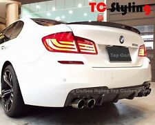 Carbon Fiber Rear Diffuser V Style For BMW F10 F11  M TECH M SPORT ONLY
