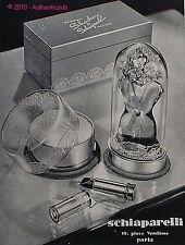 PUBLICITE PARFUM SCHIAPARELLI SHOCKING POUDRE ROUGE A LEVRE DE 1940 FRENCH AD