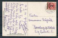 Postkarte DR Mi.-Nr. 309 EF Bad Reichenhall-Hamburg - b5620