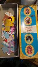 1968 LUCKY LOCKET KIDDLES Magic PAPER DOLLS Mattel, Whitman