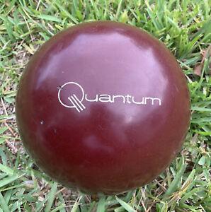 Quantum Maroon Bowling Ball