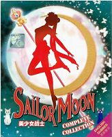 SAILOR MOON (SEASON 1-6) - COMPLETE ANIME TV SERIES DVD (1-226 EPIS + 3 MOVIES)